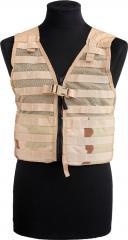 US MOLLE II FLC vest, with zipper, 3-col desert, unissued