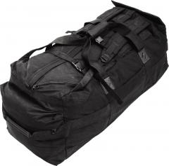 British duffel bag, 100 l, black, surplus