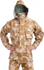 British MVP rain jacket, Desert DPM, surplus