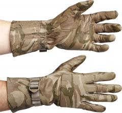 British combat gloves, MTP camo, surplus