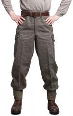 Swedish wool trousers, surplus