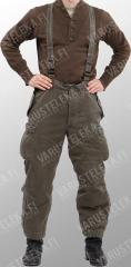 Austrian winter trousers, olive drab, surplus