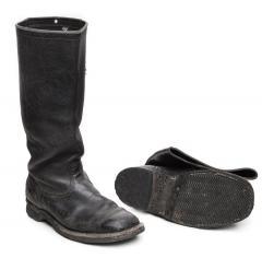 Finnish leather jackboots, surplus