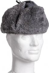Finnish fur hat, gray, surplus