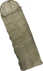 British jungle sleeping bag with compression bag, surplus
