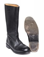 BW leather parade boots, surplus