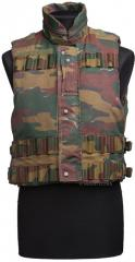 Belgian fragmentation vest with padding material, surplus