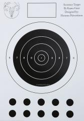 Kaaos Gear A3 Accuracy shooting target