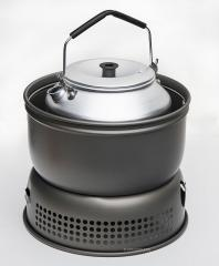 Trangia coffee pot for 25 series stoves, 0,9L.