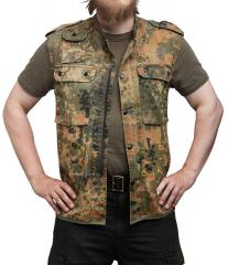 BW survival vest, Flecktarn, surplus