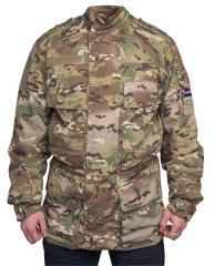 Dutch parka with GTX and pile liner, Multicam, surplus
