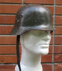 Finnish Hungarian M35 steel helmet #1