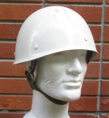Finnish M60 white parade helmet