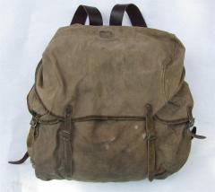 Finnish rucksack, repaired