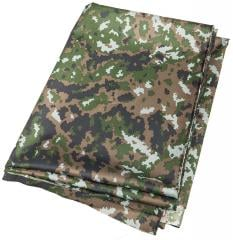 Foxa Viking Camo Fabric, M05 Winter Woodland, by the meter