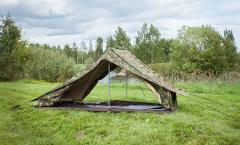 The superbly pompous one man tent of the Dutch army may not be very portable or lightweight but damn it is so luxurious and whatu0027s best ... & Dutch one man tent surplus - Varusteleka.com