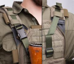 Särmä TST 2-piece Utility Strap. The longer strap can be used as a sling with a tactical vest.