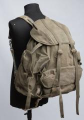 "Belgian ""Pattern 42"" commando pack with Norwegian frame, surplus"