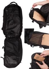 Särmä Assault Pack. Inside you'll find useful compartments.