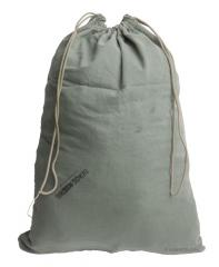 US laundry bag, gray-green, surplus