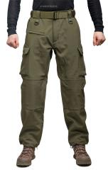 Mil-Tec Explorer Softshell Trousers, Olive Drab
