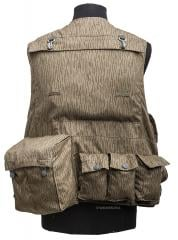 NVA Fallschirmjäger combat vest. Gas mask pouch, grenade pouches and Zeltbahn pouch. Also note the NBC roll hooks.