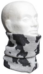 Särmä heavy neck tube, merino wool, snow camo