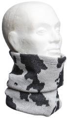 Särmä heavy neck tube, merino wool, snow camo