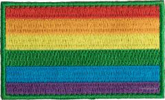 Särmä rainbow flag patch, 77x47 mm