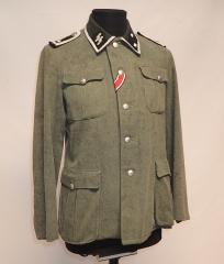 W-SS wool tunic, Oberscharführer, repro, surplus, 48
