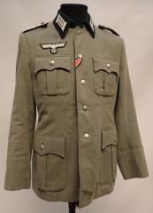 Wehrmacht wool tunic, Hauptmann, repro, surplus, 48
