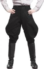 W-SS breeches, wool, black, repro, surplus