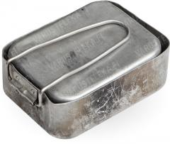 Dutch mess tin, aluminium, surplus