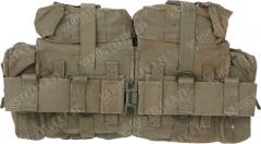 SADF Pattern 70 belt with kidney pouches, surplus