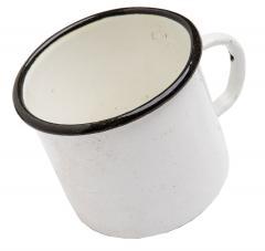 CCCP enamel mug, surplus
