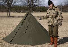 huge discount e8ab8 e4edf Polish two-man tent, surplus