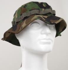 6c3d4882c4b85 Boonie hats are among the best things you can wear in hot weather. This is  a US army style boonie hat in Woodland camouflage.
