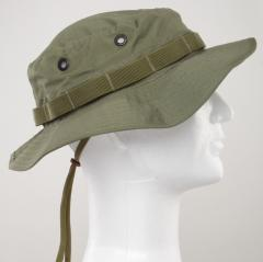 1d332a27f3b Boonie hats are among the best things you can wear in hot weather. This is  a US army style boonie hat in Woodland camouflage.