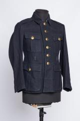German / Finnish fireman's wool tunic #1