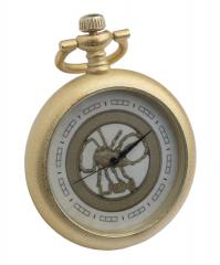 British wartime pocket watch, gold colour, repro
