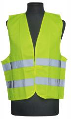 High-visibility vest, day-glo yellow