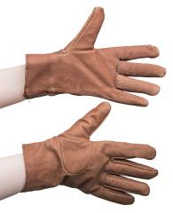 Czech women's leather gloves, lined, surplus