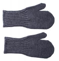 Särmä Kids' Merino Wool Mittens, Dark Grey