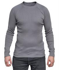 Dutch undershirt, long sleeve, gray, surplus