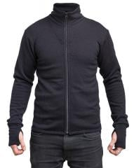 Särmä Merino Wool terry jacket, black