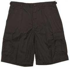 Mil-Tec BDU shorts, polycotton, black