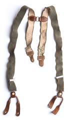 Finnish trouser braces, WW2 model, surplus