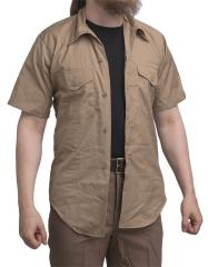 USMC service shirt, short sleeve, khaki, surplus