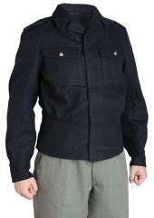 Finnish M65 wool jacket, dark blue, surplus