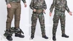 Särmä TST L3 Loft Pants. 5) Loft Pants are ready and in place. 6) Pull up your camo pants. 7) All done! And without ever removing your pants and footwear!
